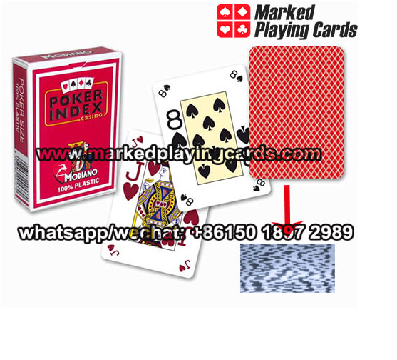 barcode marked decks for poker scanning camera